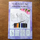 Fantastic Florals Watercolor Kit