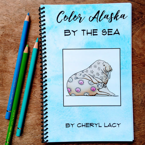 coloring book - By the Sea