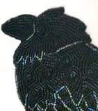 Beaded Raven - Art Original