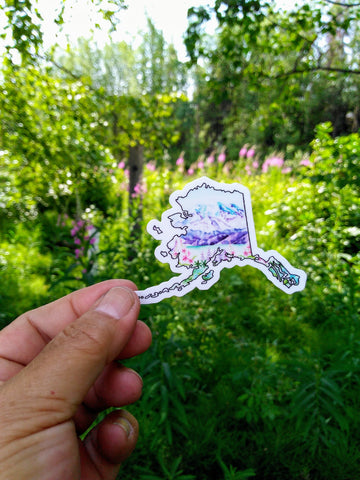 Sticker - Denali Alaska