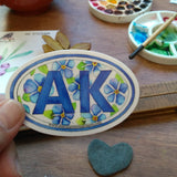 Sticker - AK Forget Me Not