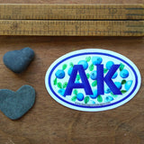 Sticker - AK Blueberries