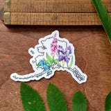 Sticker - Alaska Wildflowers