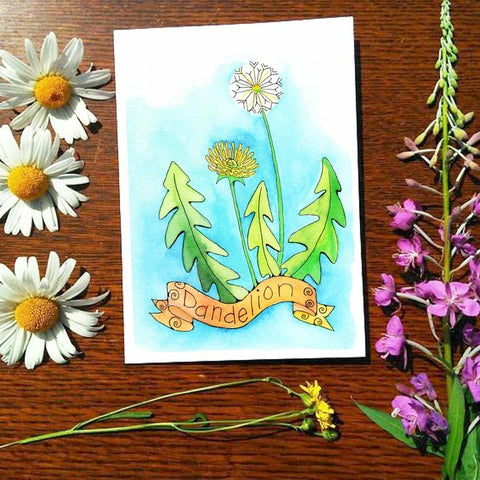 Greeting Card - Dandelion