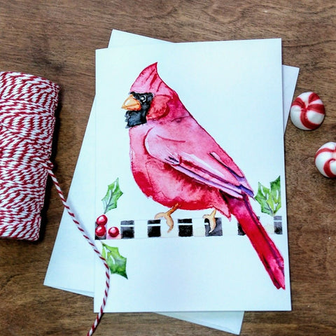 Christmas Greeting Card - Cardinal Christmas