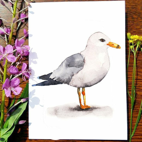 Greeting Card - Seagull