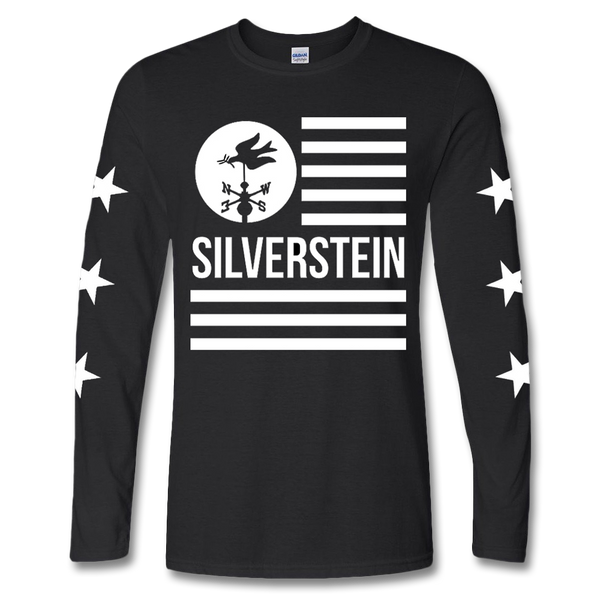 Official Silverstein Flag Longsleeve Shirt