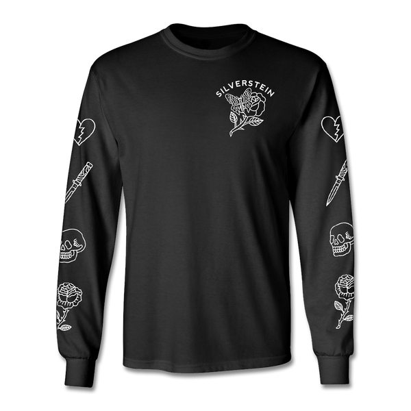 Official Silverstein Flash Longsleeve Shirt