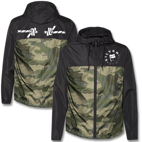 Official Silverstein Rope Lightweight Windbreaker