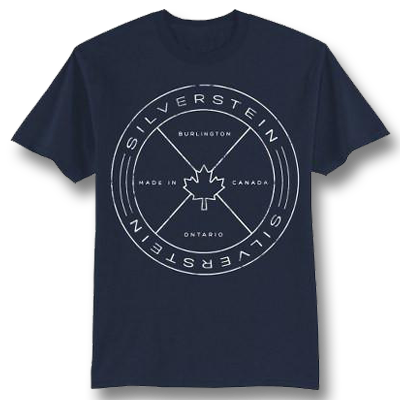 Official Silverstein Postage T-shirt