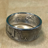 Walking Liberty Coin Ring