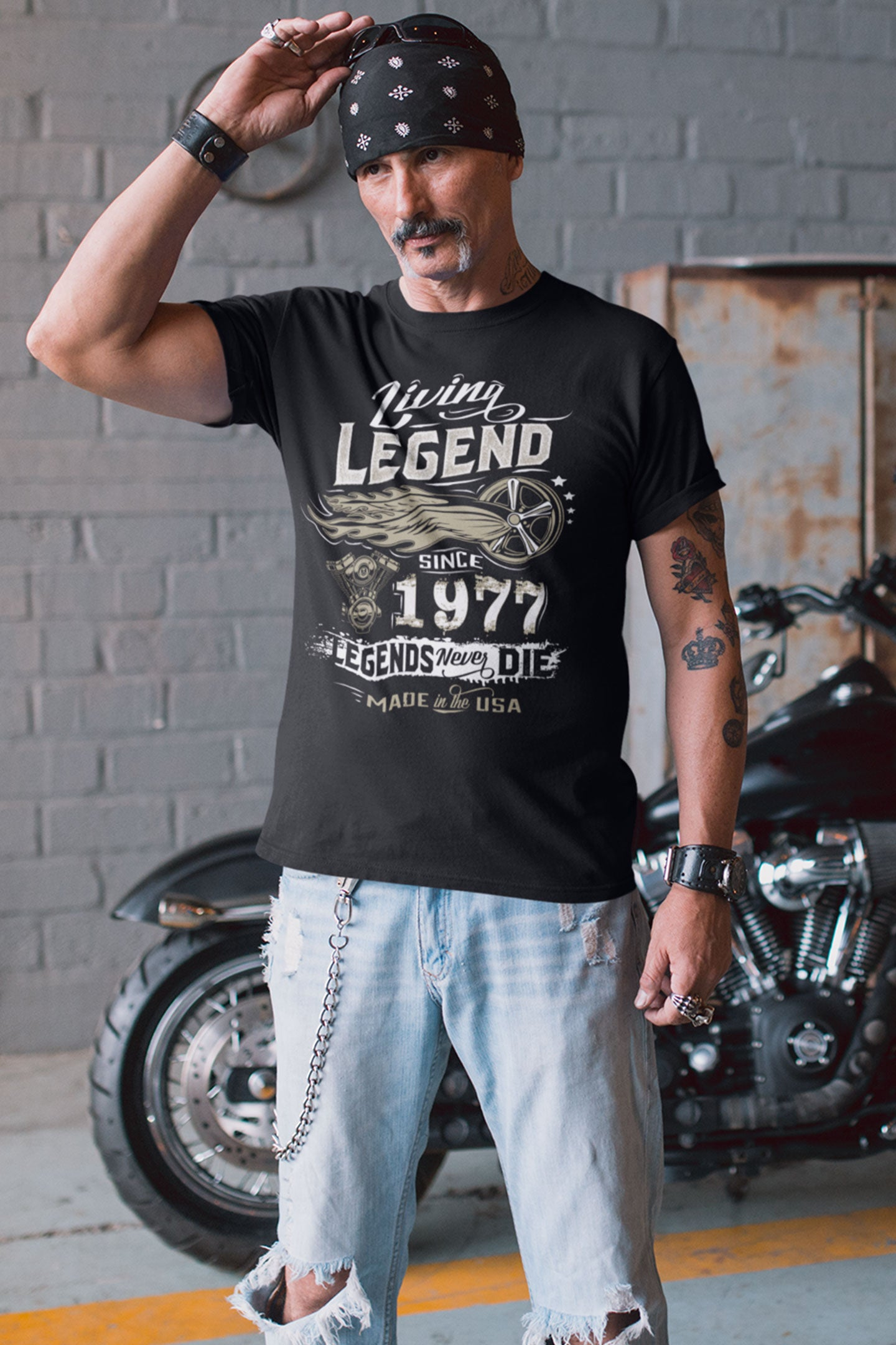Living Legend Birthday Shirt (Customizable)
