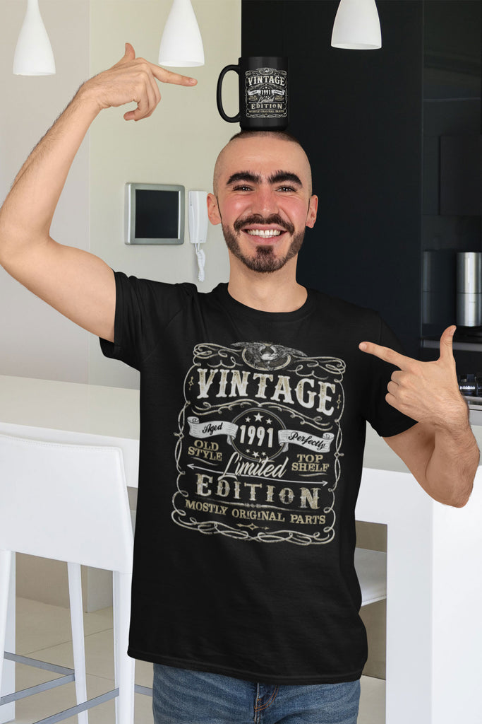 Vintage Limited Edition Birthday Gift Shirt (Customize Year)