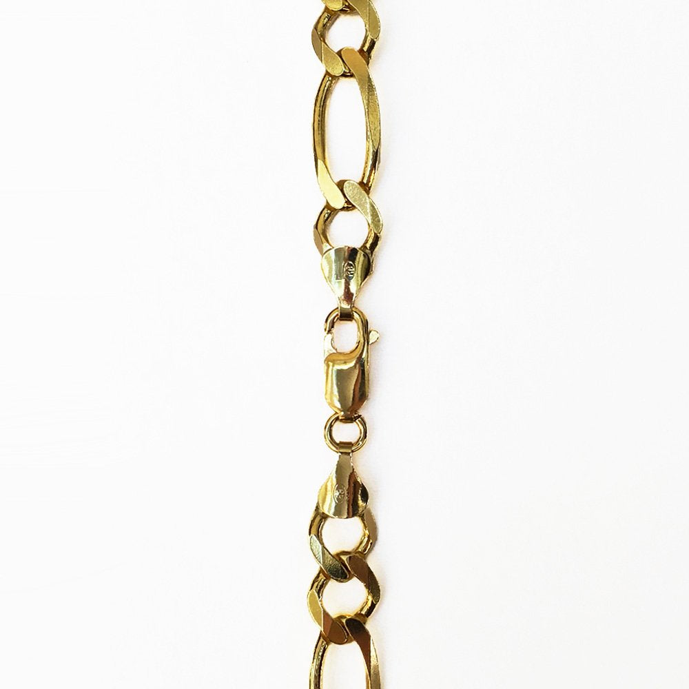 Figaro Link Chain - 14K Solid Yellow