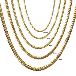 Miami Cuban Link Chain - 10K Solid