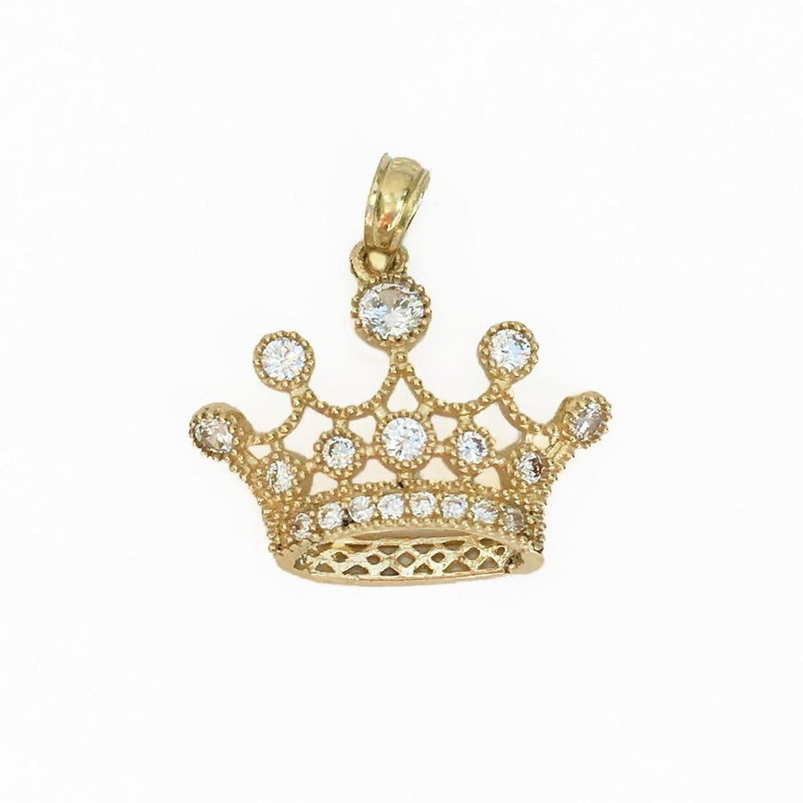 Royal Crown Pendant - 10K/14K