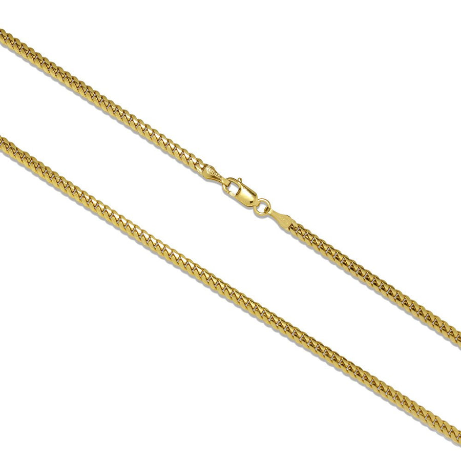 Miami Cuban Link Chain - 14K Solid