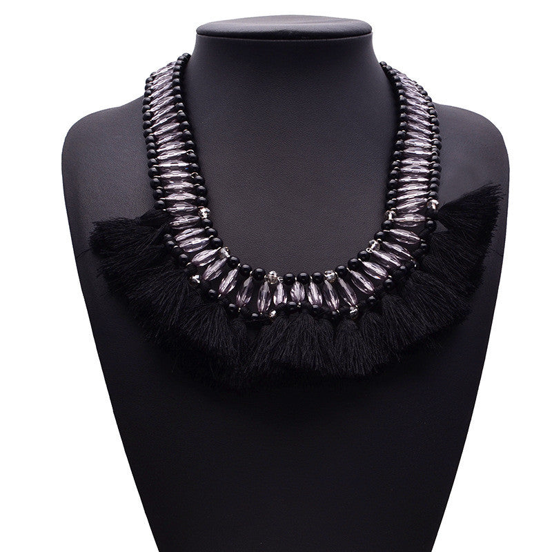 Black Mohak Necklace - My Glam Styles  - 1