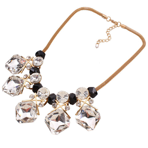 Clear White Beautiful Fashion Necklace