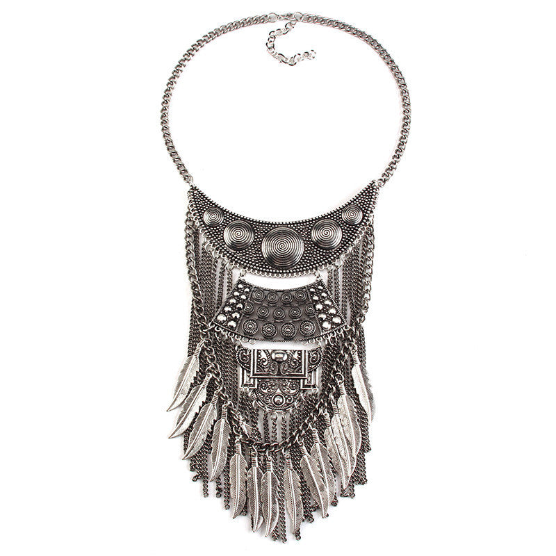 Figures Boho Statement Necklace - My Glam Styles  - 1