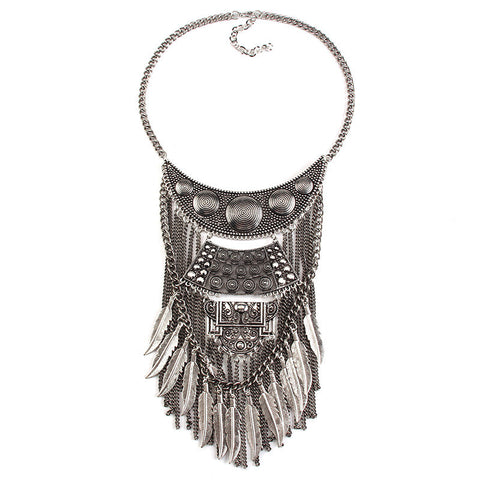 Figures Boho Statement Necklace