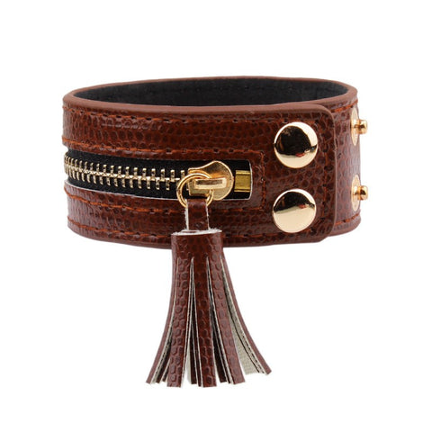 Fringe Brown Bracelet