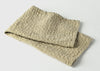 diamond weave dish towel top view