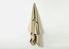 heavyweight solo stripe linen bath towel drape