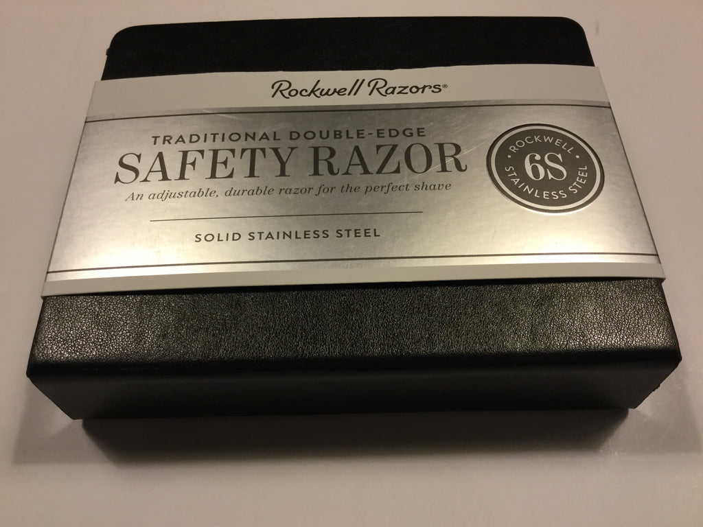 Rockwell Razors Matte Stainless Safety Razor 6S