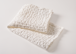 100% white linen hand towels