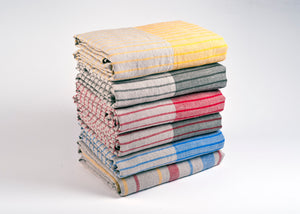 100% linen beach towels