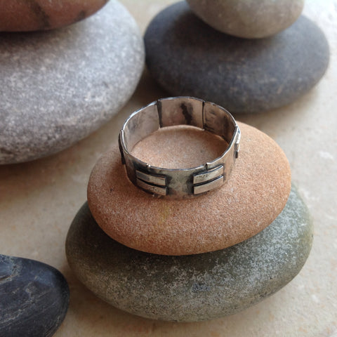 Sterling and Fine Silver Piece Band