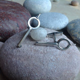 Handcuff Key Cuff Links