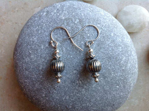 Sterling Silver Alice Earrings