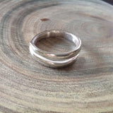 Open Point Sterling Silver Ring