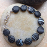 Striped Agate Bracelet