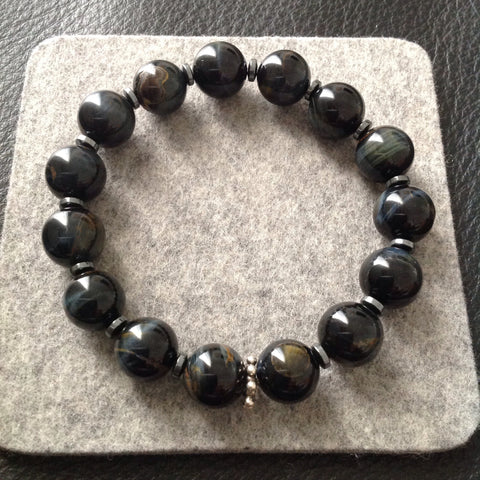 Black Tigereye Bracelet