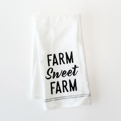 Farm Sweet Farm Tea Towel