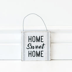 Home Sweet Home Hanging Tile