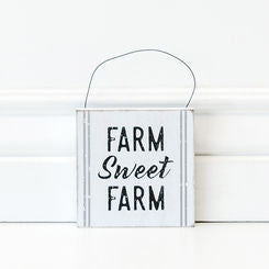 Farm Sweet Farm Hanging Tile