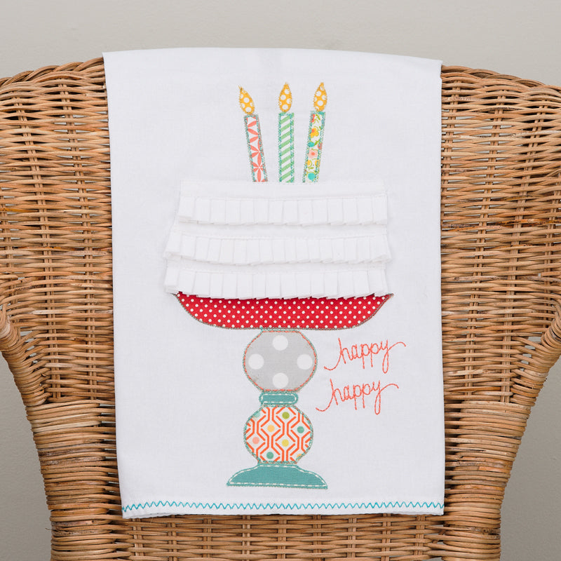Happy Birthday Hand Towel