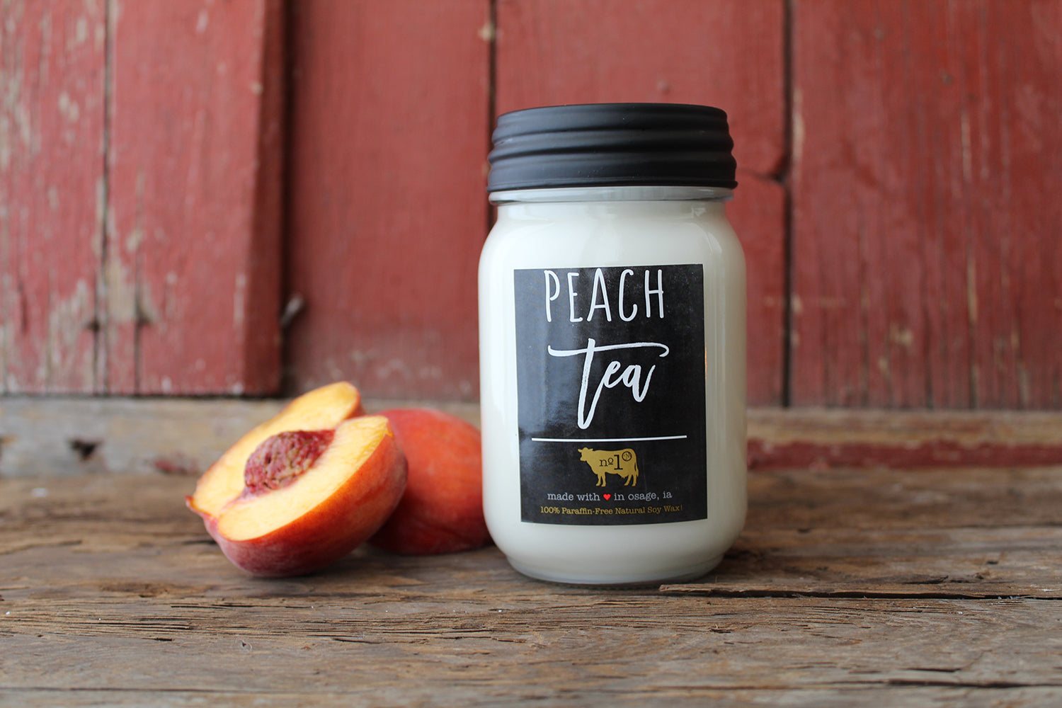 Peach Tea Candle 13oz