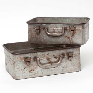 Metal Suitcase Container