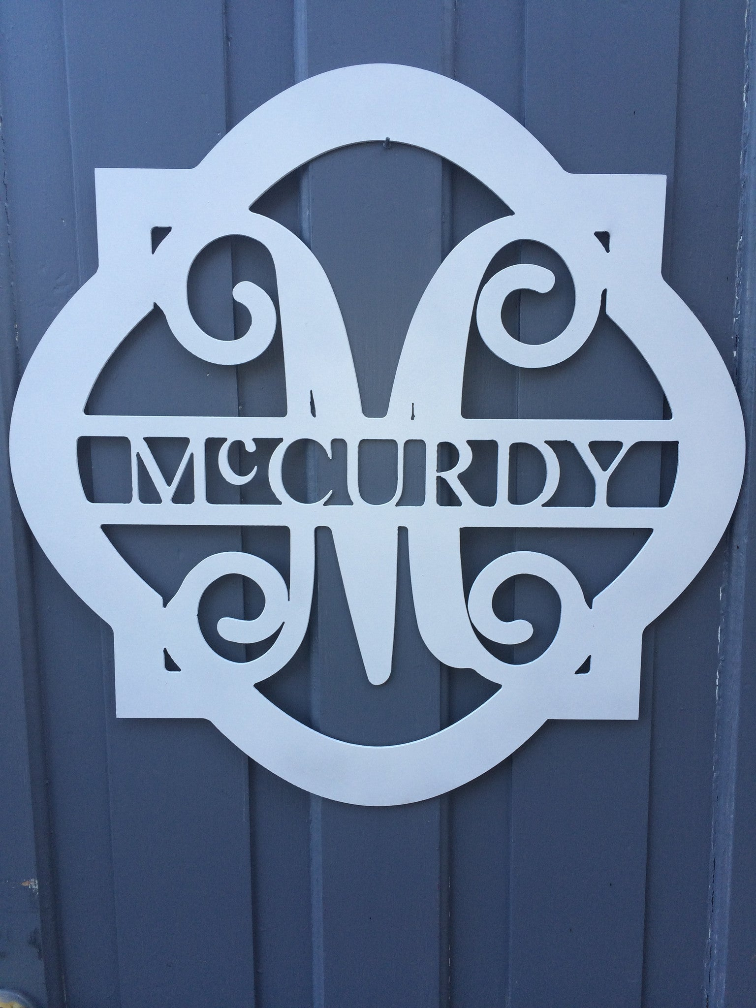 Monogram Metal Smooth Diamond Frame With Last Name – Magpie Market on grid house design, wood house design, plywood house design, steel house design, paper house design,