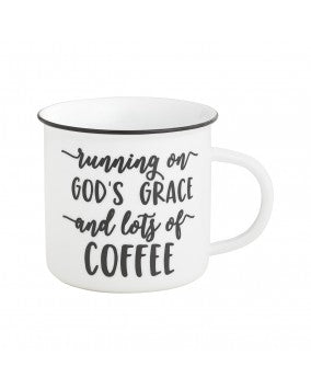God's Grace Camp Mug