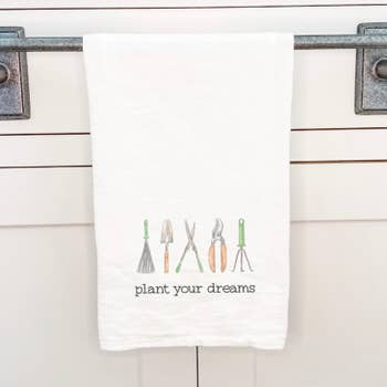 Plant your Dreams Tea Towel