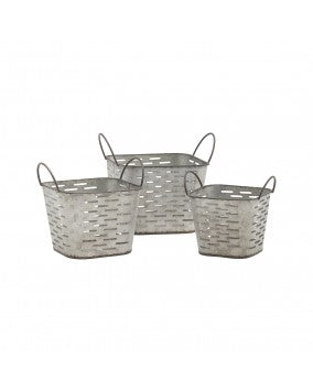 Square Olive Basket