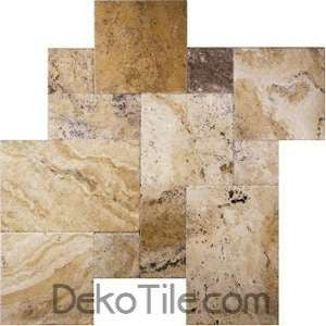 Philadelphia (Origin) Brushed and Chiseled Edge French Pattern Tile - DEKO Tile