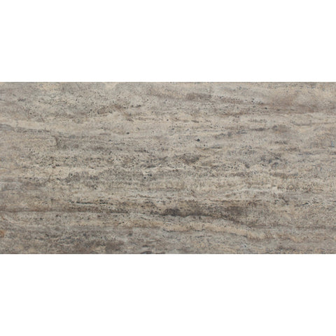 12 x 24 Silver Vein Cut Honed and Filled Travertine Tile  - DEKO Tile