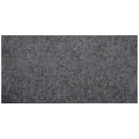 12 x 24 Flamed and Brushed Gray Basalt Tile - DEKO Tile